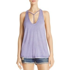 NWT we the free women's Amelia cut out tank top